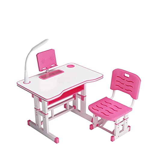 AI CHEN Escritorio ergonómico para niños, Amplio cajón de ...