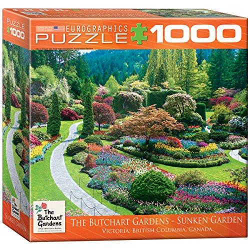 (EuroGraphics Butchart Gardens Sunken Garden Jigsaw Puzzle (1000-Piece))