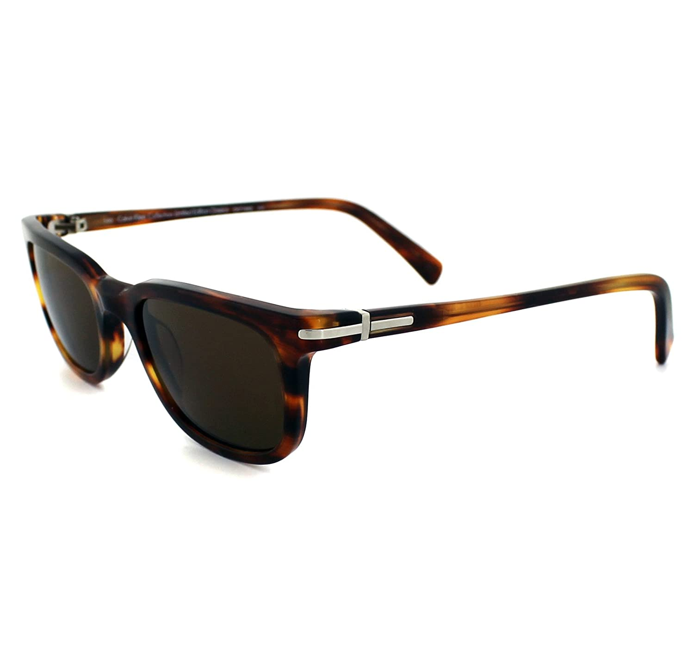 Amazon.com: Calvin Klein CK Sunglasses CK7108S 215 Honey ...