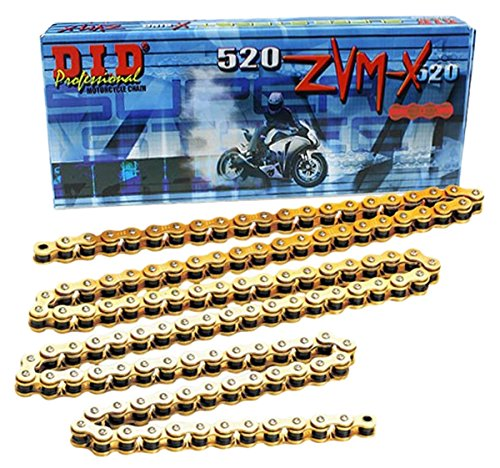 DID 520ZVXMG-ZJ-CL Gold Rivet-Style X-Ring Chain Connecting Link