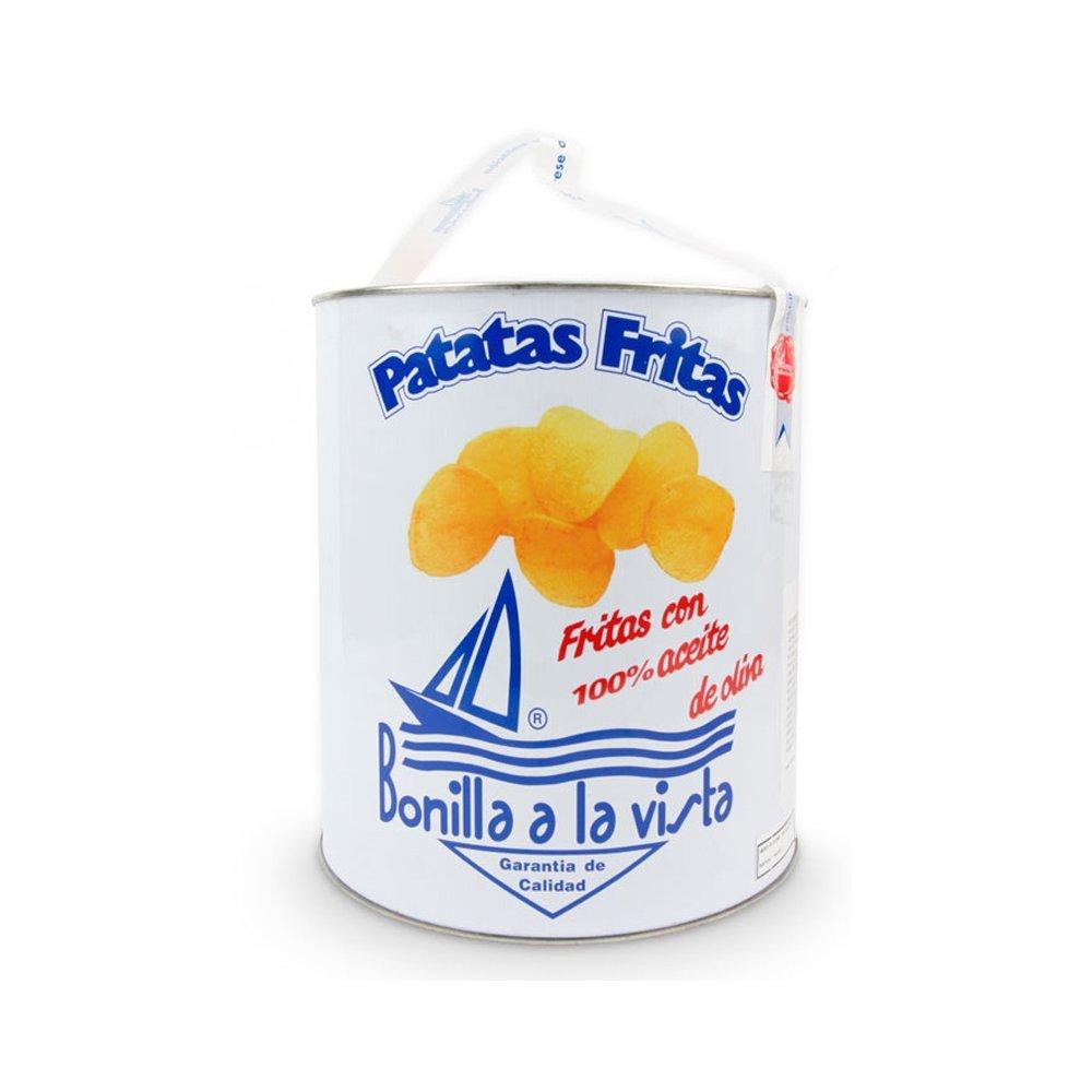 Bonilla a la Vista Snack Potato Chips Since 1932 Made in Spain, 500g by Bonilla (Image #1)