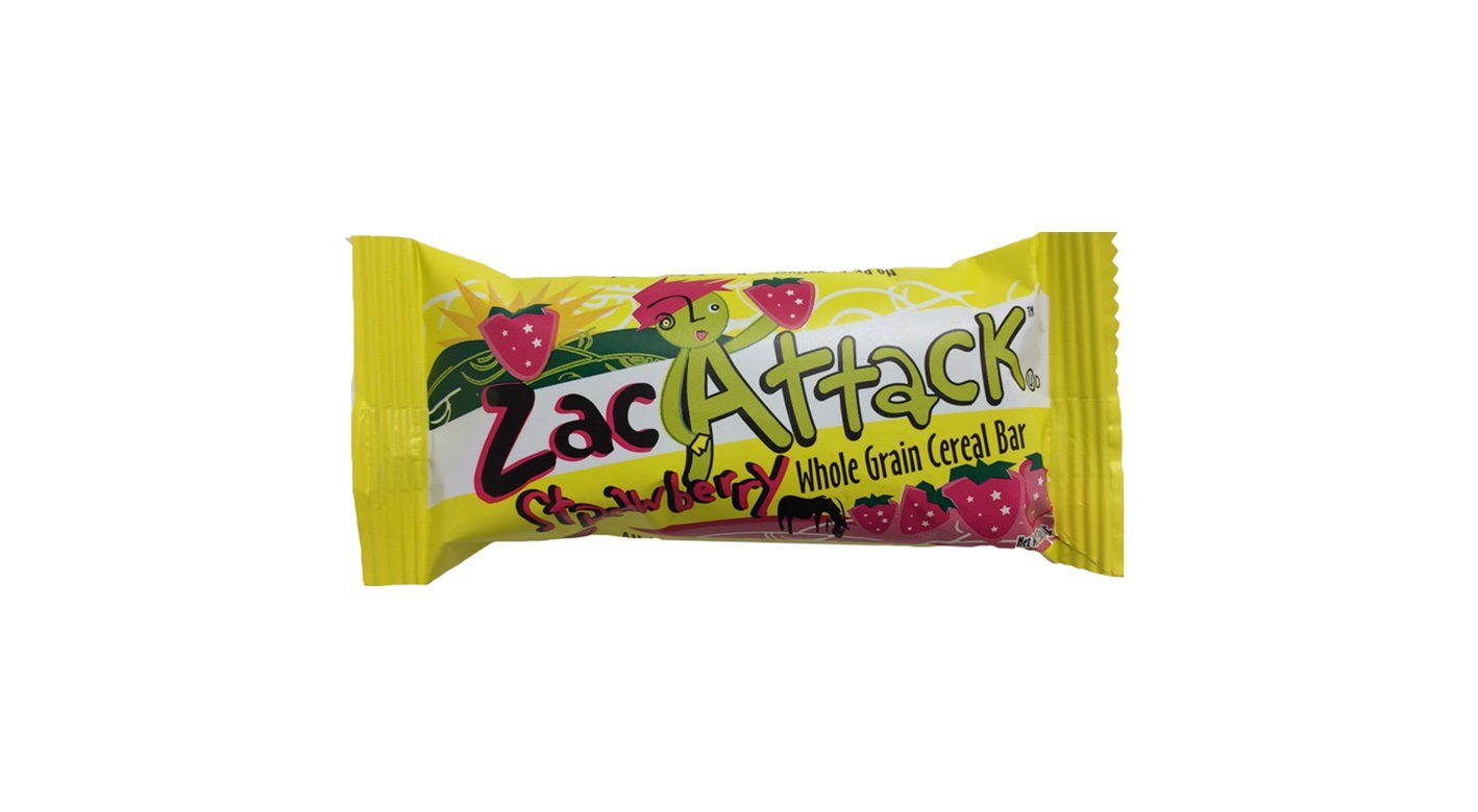 Cereal Bar, Strawberry by Zac Attack