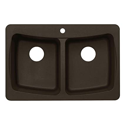 Pegasus al20mc granite double bowl kitchen sink metallic chocolate pegasus al20mc granite double bowl kitchen sink metallic chocolate workwithnaturefo