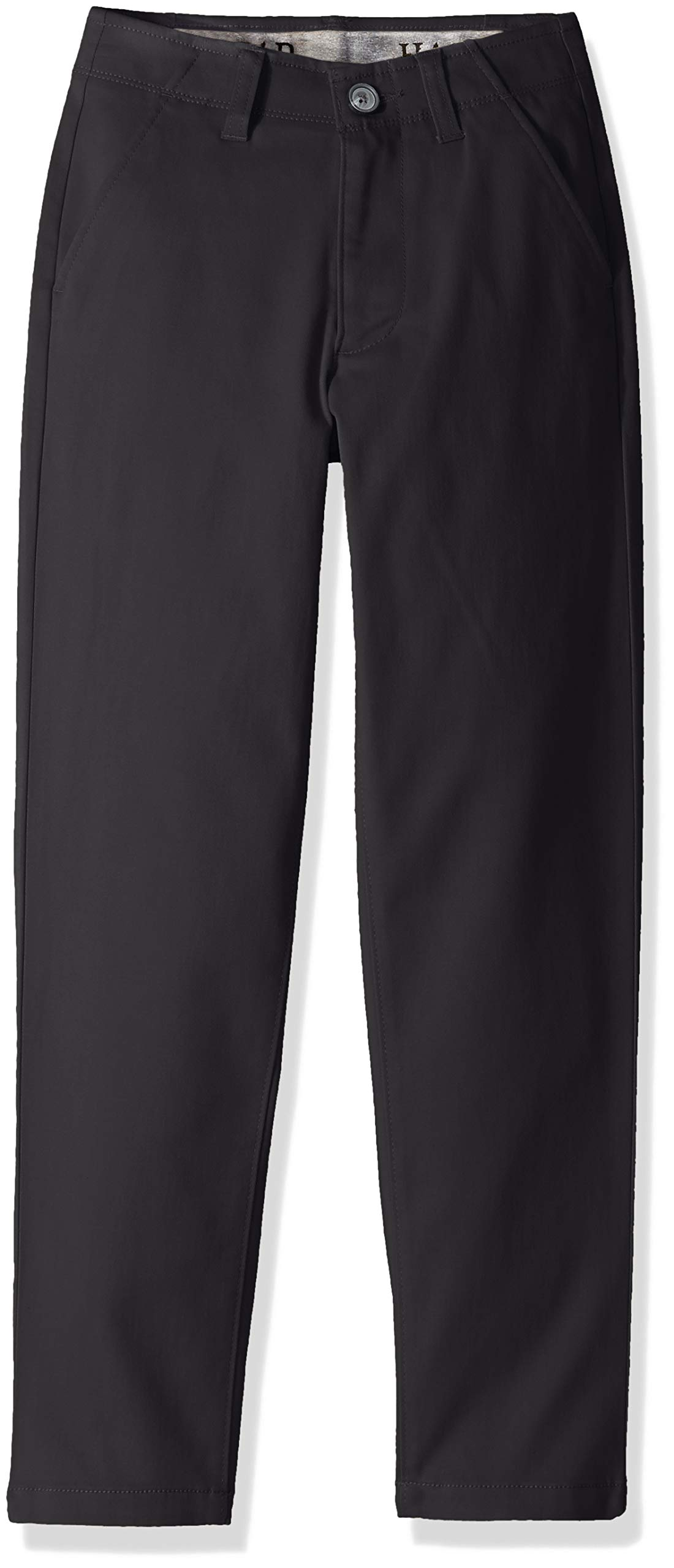 Haggar Big Boy's Youth Slim 8-20 Sustainable Chino Pant, Black 18 SLM