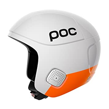 Casco de esquí POC Skull Orbic Comp Spin Originals, color blanco, tamaño M-L