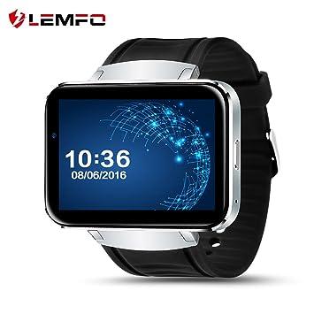 Amazon.com: LEMFO Reloj Inteligente Teléfono Celular con ...