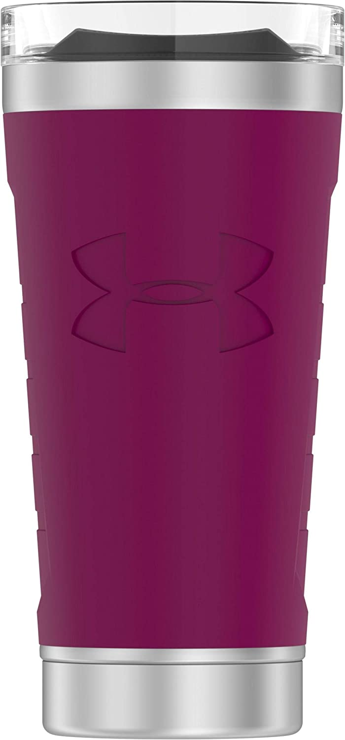Under Armour MVP 18 Ounce Vacuum Insulated, Charged Cherry Stainless Steel Tumbler
