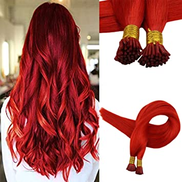 Easyouth I-Tip Hair Remy Hair Extensions