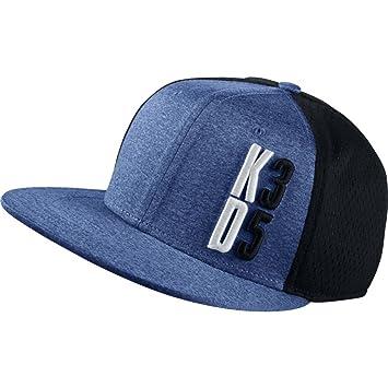 Nike Mens KD PerformanceTrue Snapback Hat BlackRoyal Blue