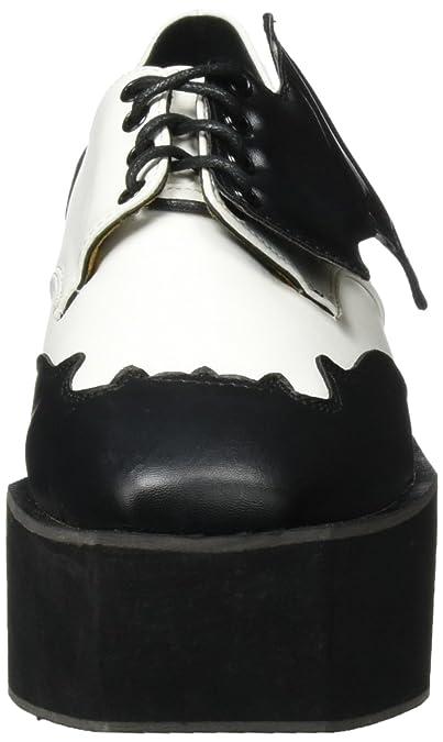 Iron Fist Damen Daytime Sleeper Creeper Pumps, Schwarz (Black/White), 37 EU