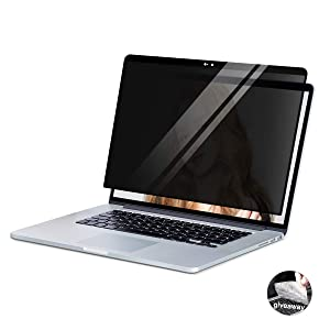 MacBook Pro 16 Privacy Screen Protector Filters,YBP Upgraded Privacy Filter Easy On/Off Anti-Glare Removable HD Privacy Screen for New MacBook Pro 16 inch(2019) …