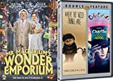 Fantasy World Triple Feature - Mr. Magorium's Wonder Emporium, Where the Wild Things Are & Charlie and the Chocolate Factory 3-DVD Set
