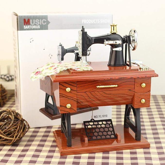 Gutyan Máquinas De Coser Vintage Caja De Música Decoración ...