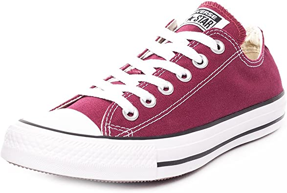 lavabo Oblongo emulsión  Amazon.com | Converse Women's Sneakers, Red Maroon, Womens 8 | Fashion  Sneakers