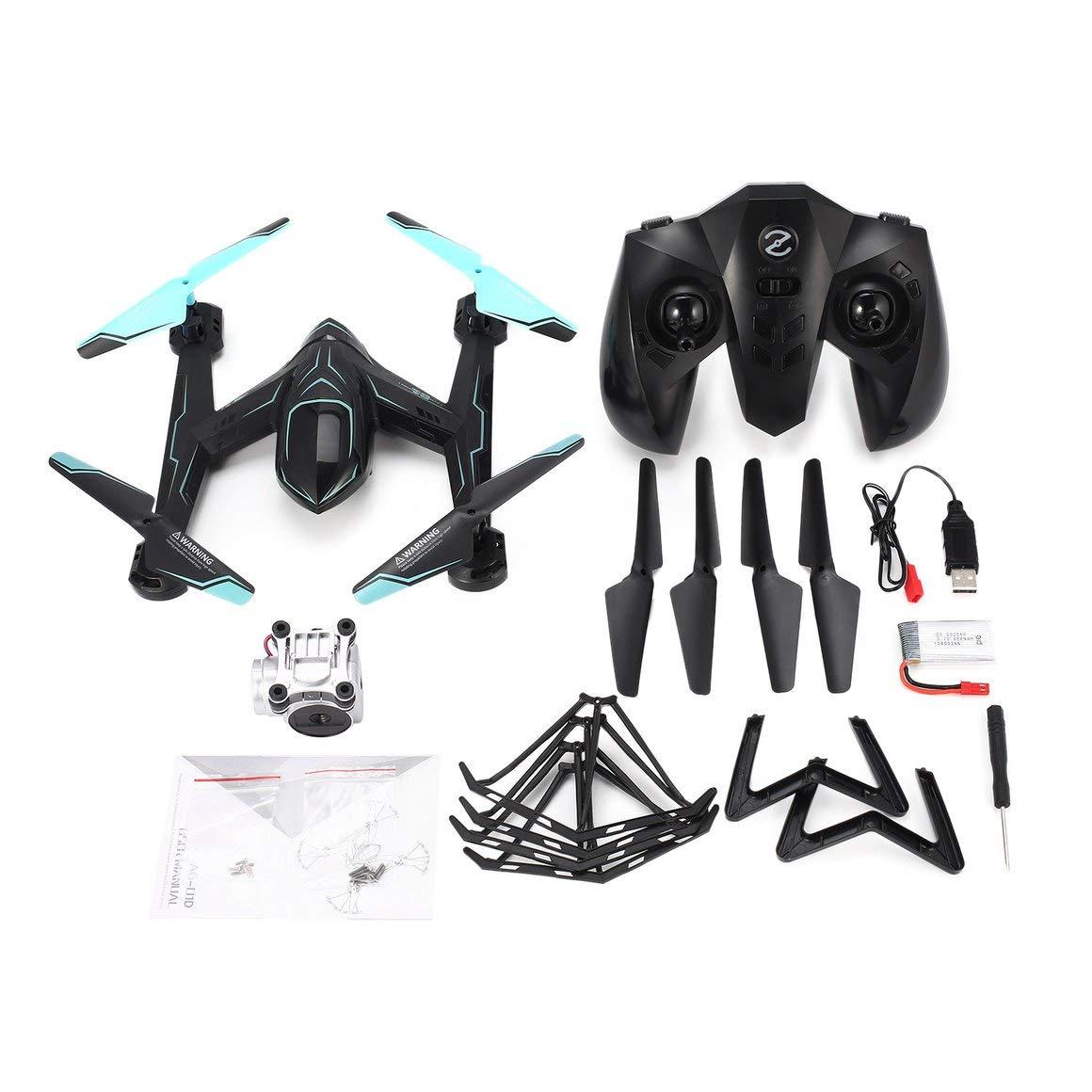 Funnyrunstore AG-01DP FPV 720P Kamera Selfie Höhe Halten Halten Halten Drohne Headless Modus 3D Flip EIN Schlüssel Return Hovering H / L Geschwindigkeit RC Quadcopter e49a13