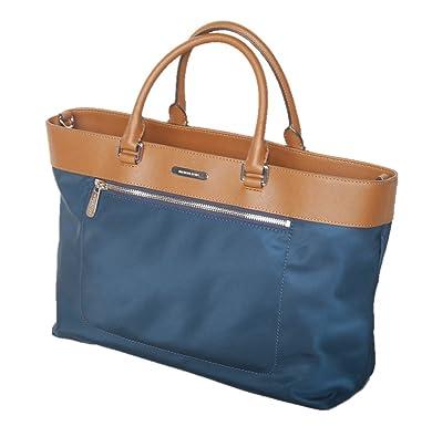 93636cdbdbe6 Michael Kors Large Colgate East West Leather   Nylon Tote Shoulder Bag