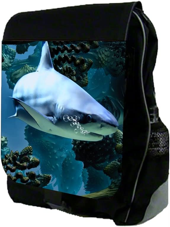 TM School Backpack and Pencil Case Set Shark Rosie Parker Inc