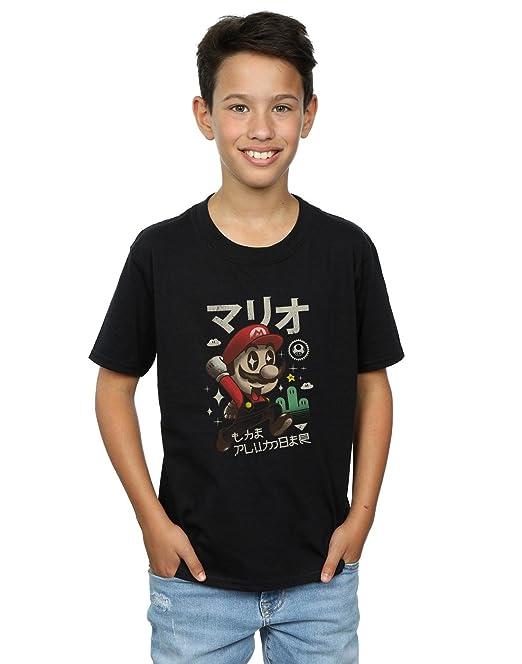 Absolute Cult Vincent Trinidad Niños Kawaii Plumber Camiseta: Amazon.es: Ropa y accesorios