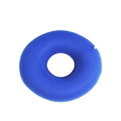 Amazon.com: Exceso inflable anillo de vinilo redondo asiento ...