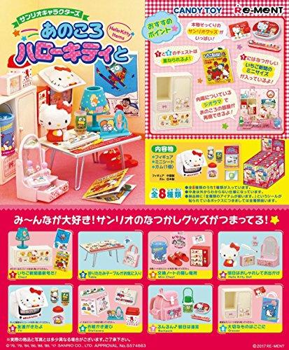 Re-Ment Miniature Sanrio Hello Kitty Mini Birthday Cake Full set of 8 pieces