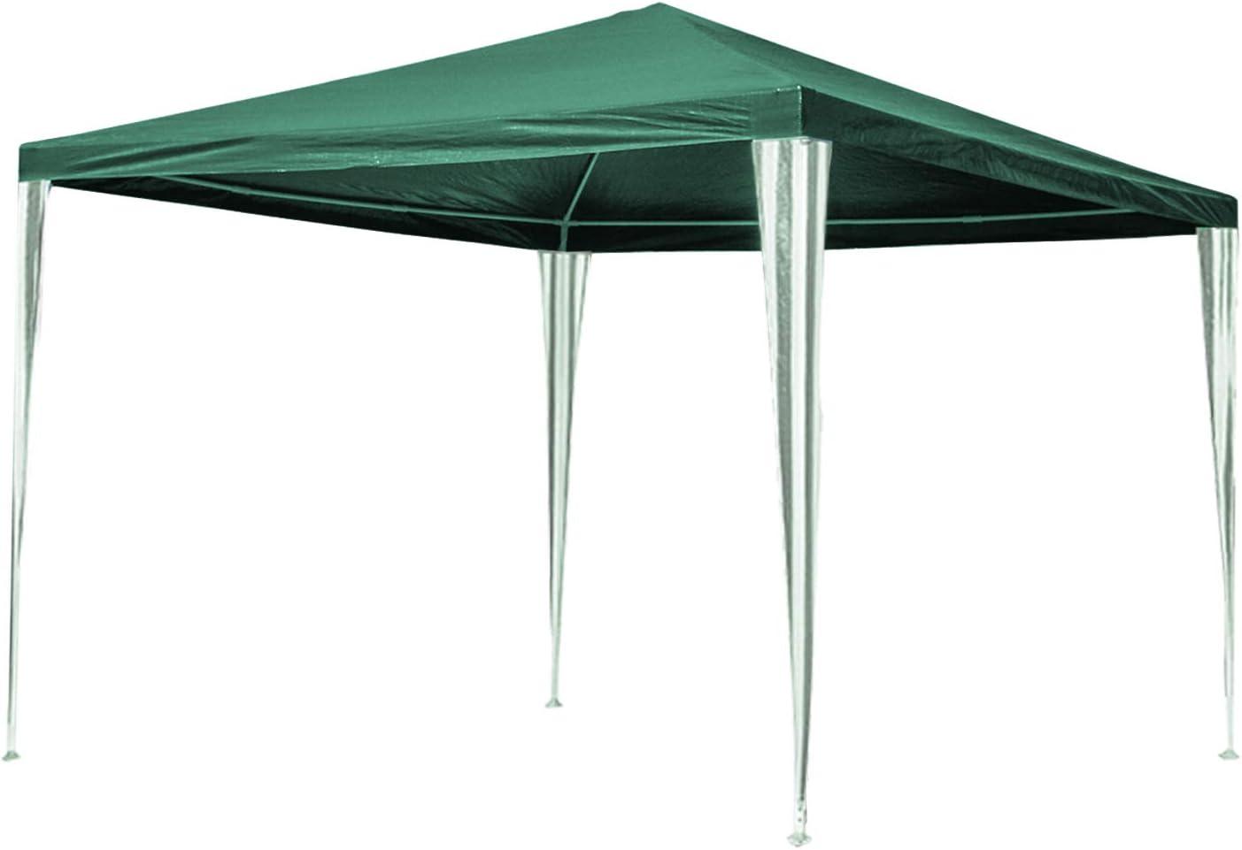 Hengda - Cenador de jardín (3 x 3 m) - Toldo para Fiestas de protección UV - Tienda de campaña para Exteriores, Boda, jardín, Fiesta, Camping, fácil ...