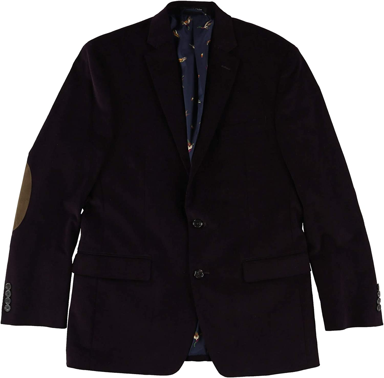 43 Regular Ralph Lauren Mens Ultraflex Sport Coat Purple