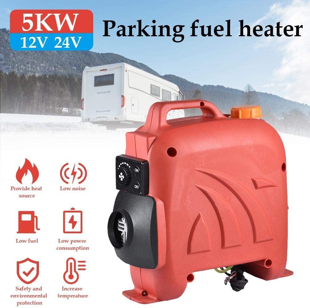 Wohnmobil Anh/änger LKW 12V // 24V 5KW Parkplatz Diesel Luftheizung Standheizung Kraftstoff Auto Air Diesel Heizung Lufterhitzer f/ür RV Wohnmobile Boote