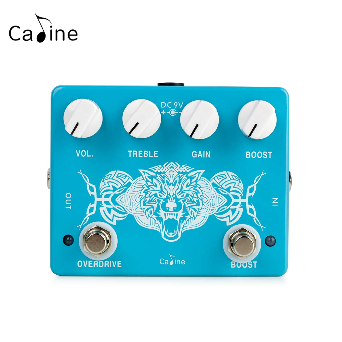 Caline CP-79 Wolf Pack Overdrive Guitar Pedal Boost Metal True Bypass by Caline