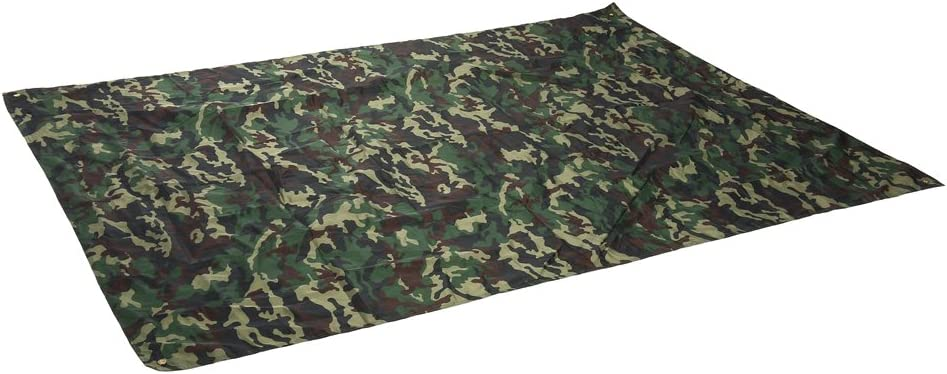 YHG Camouflage Picnic Mat Camouflage Outdoor Tent Shelter Waterproof Shade Cloth for Outdoor Camping Picnic Blanket