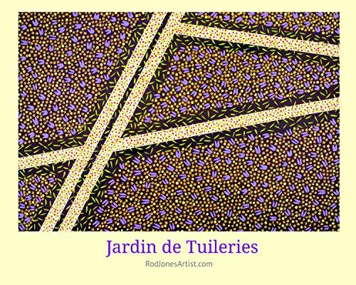 Jardin des Tuileries - Art Poster ()