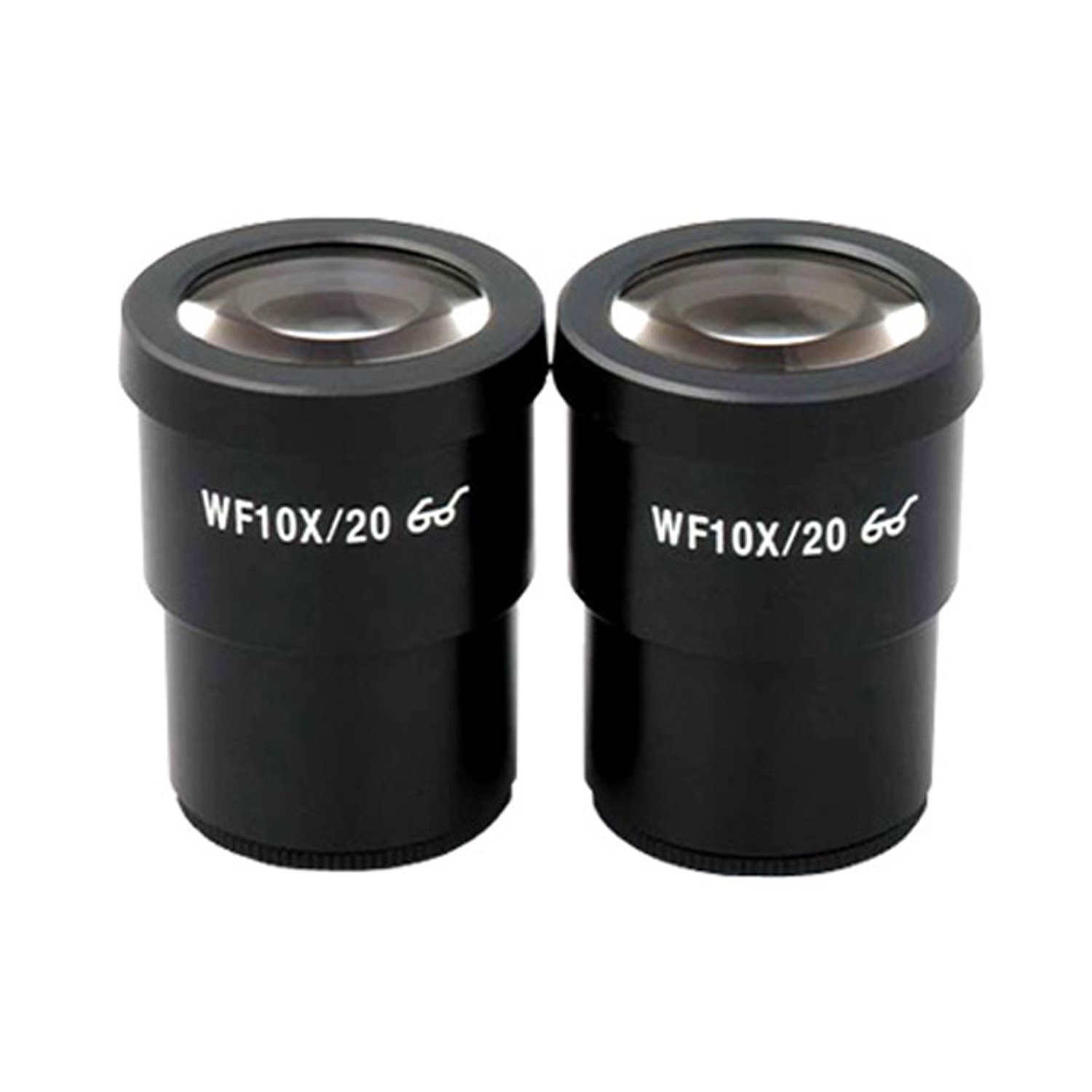 AmScope EP10X30 Pair of Super Widefield 10X Microscope Eyepieces (30mm) by AmScope