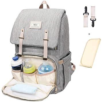 Amazon.com: Bolsa de pañales para el cuidado del bebé ...