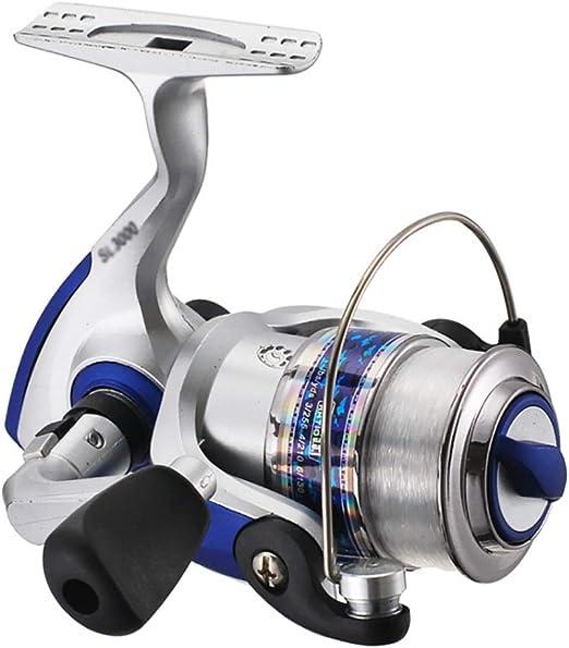 Spinning Fishing Reel Gear Ratio 5.5: 1 Rueda de Pesca Ligera para ...