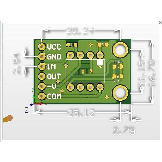 cjmcu-101 opt101 luz módulo de Sensor de intensidad de la luz solo Chip Diodo fotoeléctrico: Amazon.es: Electrónica