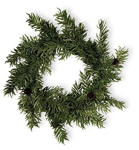 Boston International Balsam Fir Pinecone Wreath ()