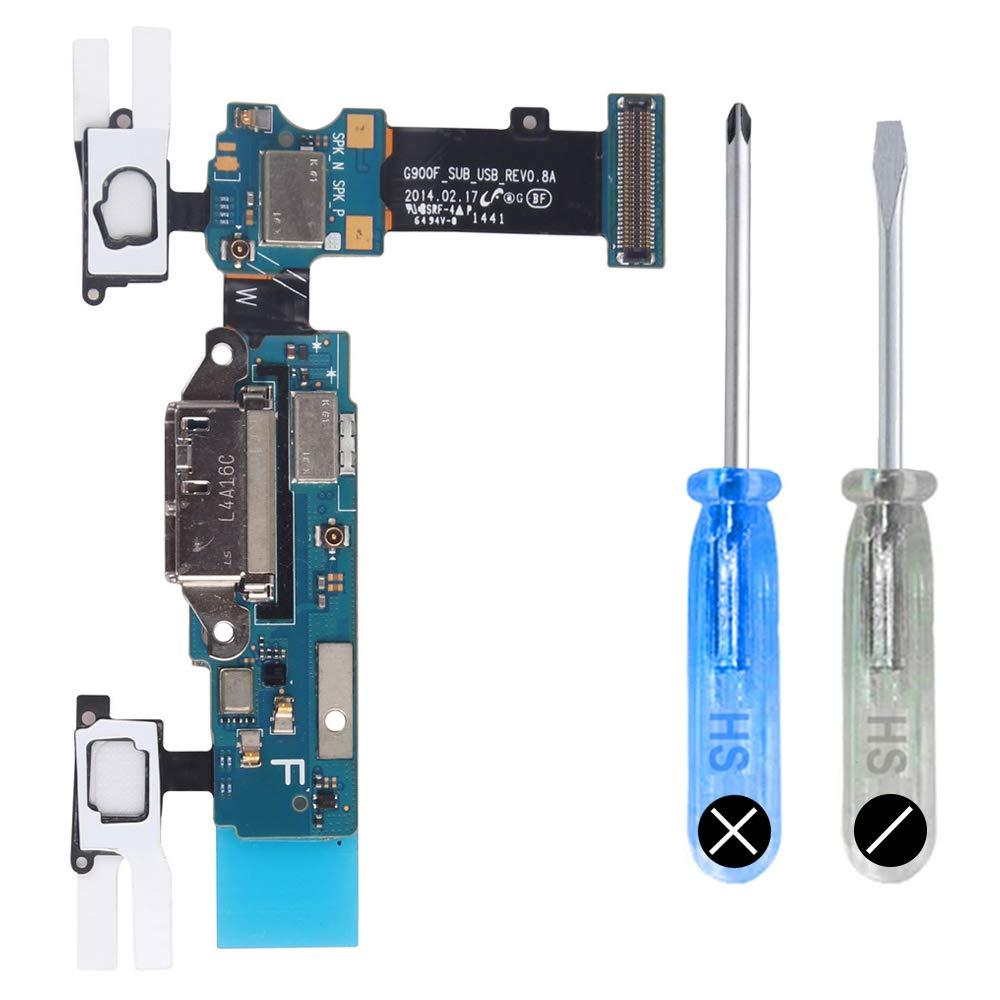 Puerto de Carga para Samsung S5 G900F Micro USB Flex incl De