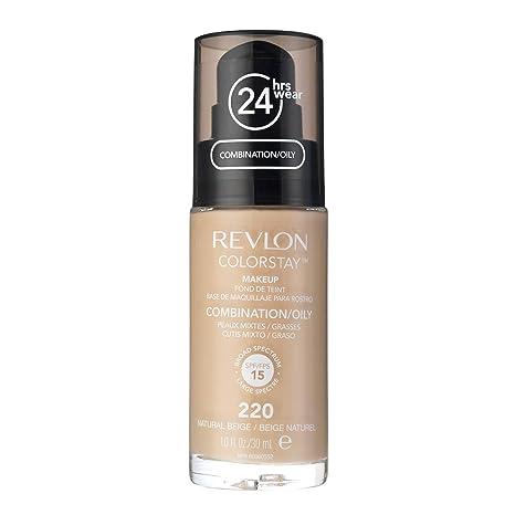 Revlon Colorstay 24H, Base de maquillaje para rostro, para cutis mixto/graso,