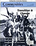 img - for Communities Magazine #105 (Winter 1999)   Transition and Change book / textbook / text book