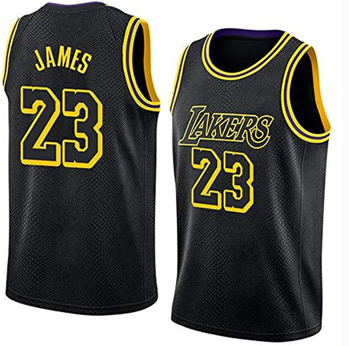 Lebron James # 23 Camiseta De Baloncesto De Los Hombres - NBA Los ...
