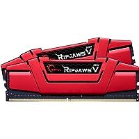 G.SKILL F4-2666C15D-32GVR 32GB (2 x 16GB) PC4-21300 2666MHz DDR4 288-Pin DIMM Desktop Memory