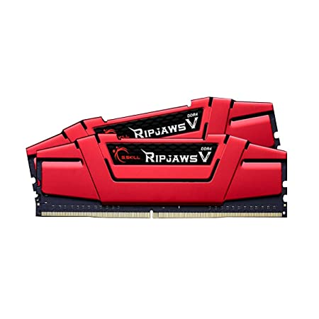 G.SKILL 32GB 2 x 16GB Ripjaws V Series DDR4 PC4 21300 2666MHz For Intel Z170 Platform Desktop Memory Model F4-2666C15D-32GVR Components at amazon