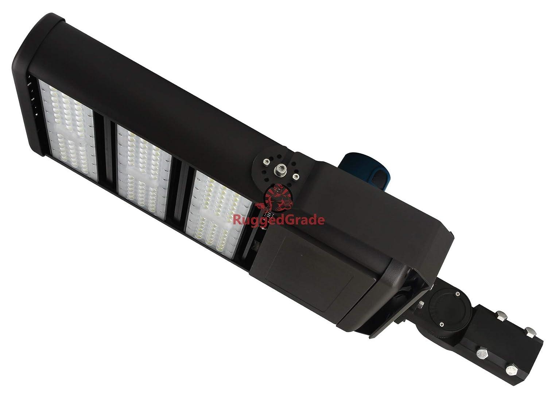 41,000ルーメン LEDパーキングロット ライト 300ワット LED駐車場灯 超効率 52-232 B07CSJXPGV 61,000 Lumen - 450 Watt - Pro 2 - 5000k - Slip Fit Mount
