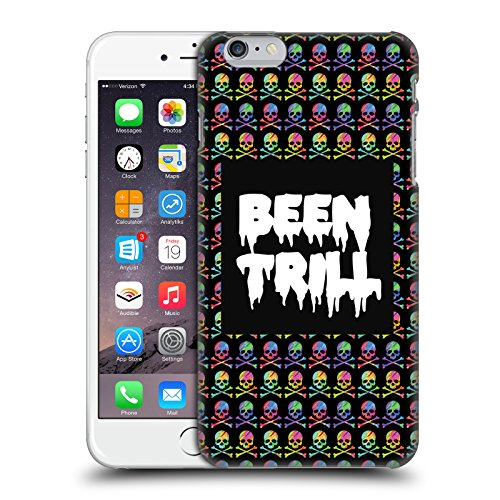 Official Been Trill Skull & Crossbone Patterns Colourful Prints Hard Back Case for Apple iPhone 6 Plus / 6s Plus