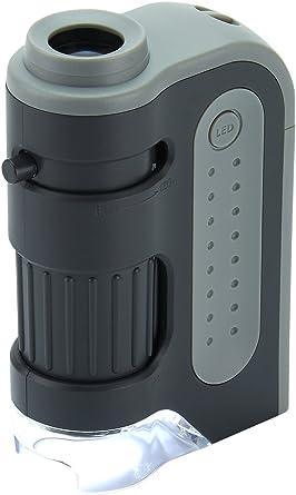 Carson Micro Brite Plus 60 -120x Microscope de  Poche avec  LED d
