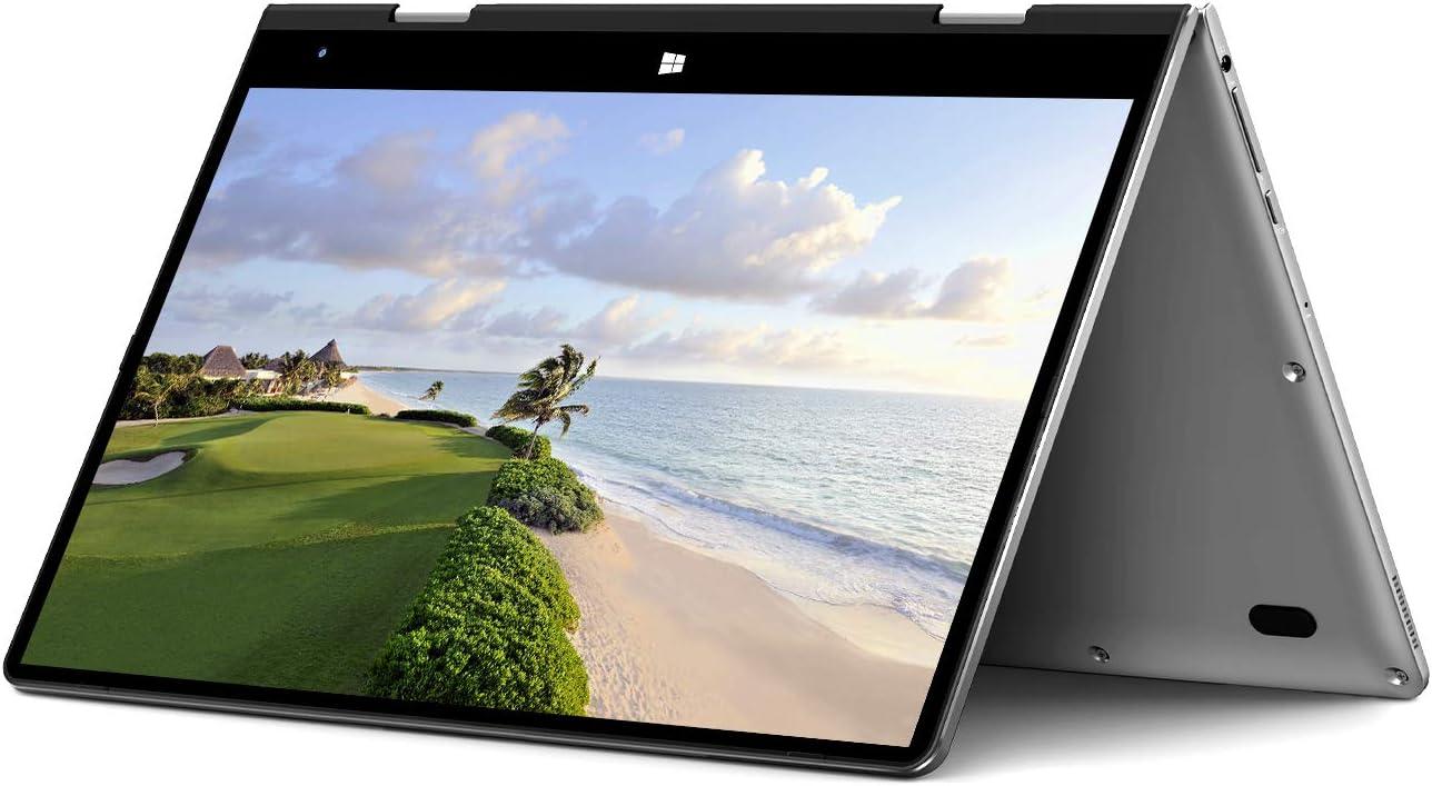 BMAX Y11 Ordenador Portatil, 2 en 1 Táctil Convertible Laptop 11.6 Pulgadas FHD 1080P Pantalla (Intel Quad Core N4120, 8GB RAM, 256GB SSD, Windows 10 Home) Cuerpo Totalmente metálico