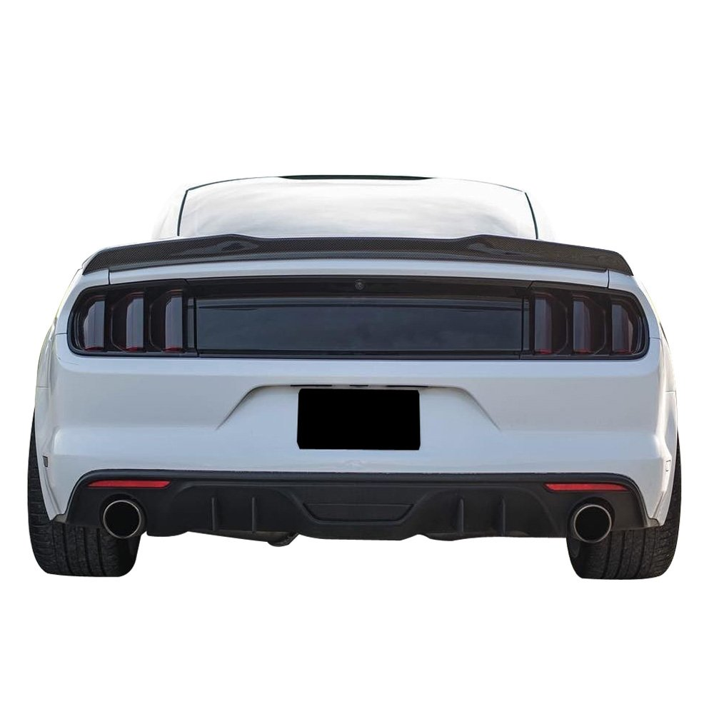 Amazon Com Trunk Spoiler Fits 2015 2019 Ford Mustang All Models