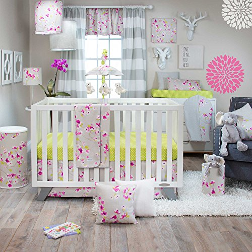 Glenna Jean Blossom 3 Piece Crib Bedding Set