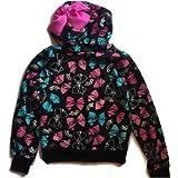 Girls Jojo Siwa Fleece Sweatshirt Lightweight Hoodie