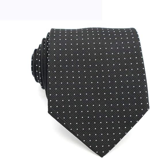 QEHWS Corbata Corbatas Jacquard Corbatas Tejidas para Hombres ...