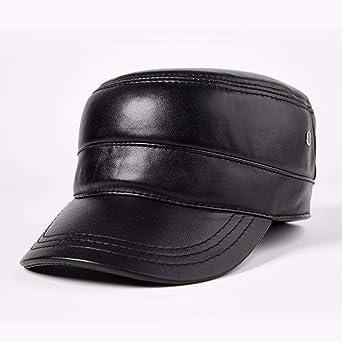 BZAHW Señoras para hombre otoño e invierno gorras gorras planas casquillos militares ocio al aire libre